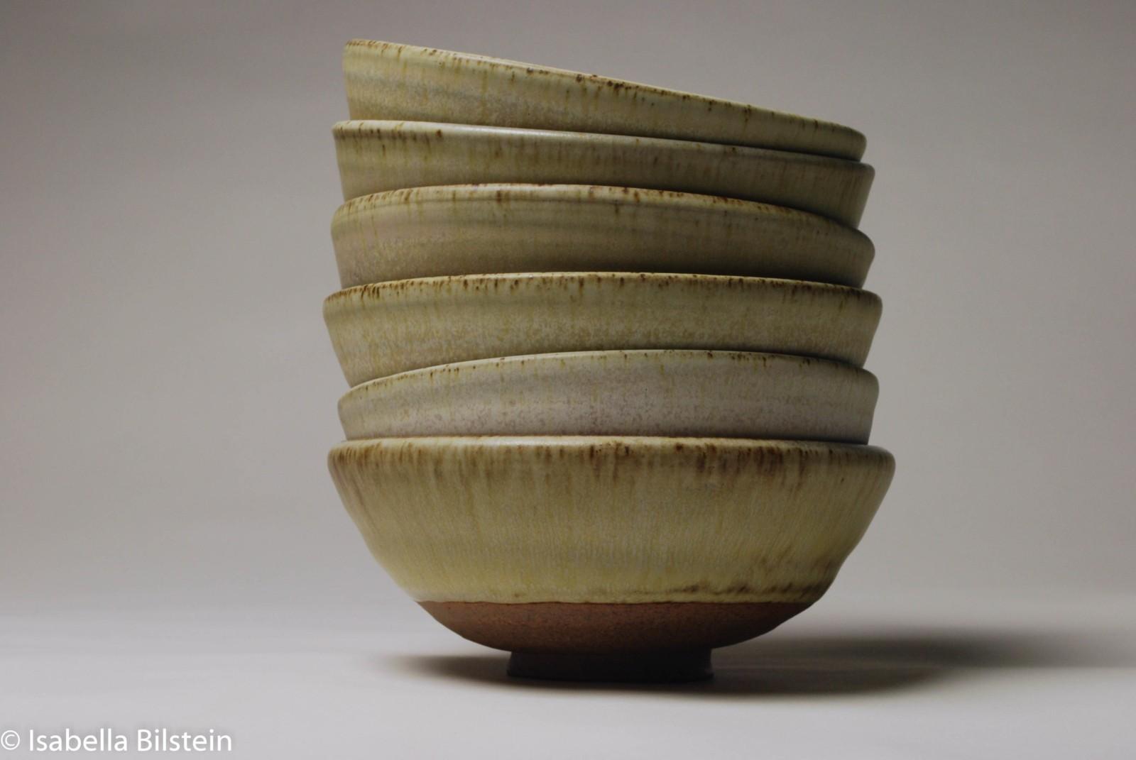 handmade stoneware bowls pottery