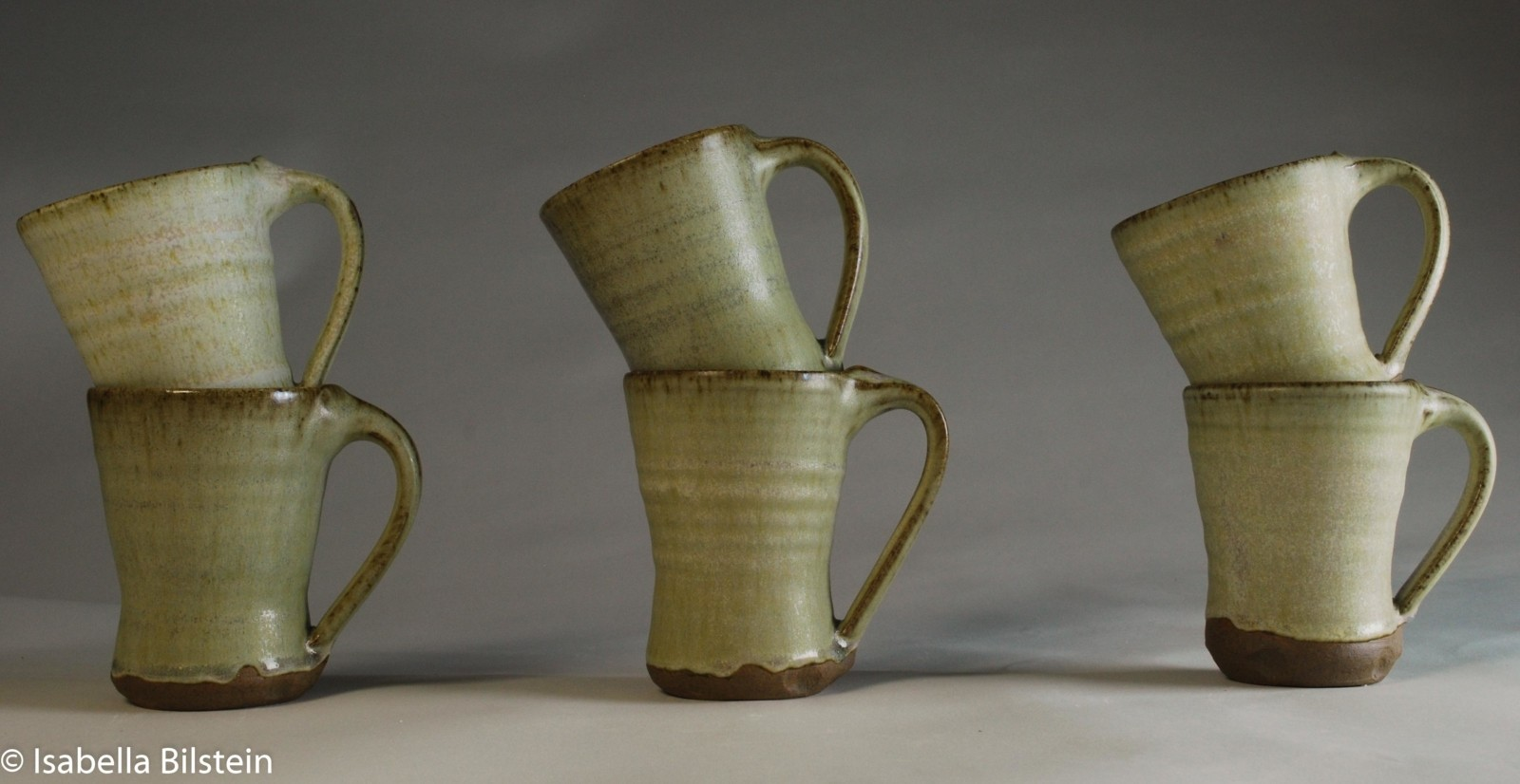 Stoneware cups available for sale at my studio pottery handmade cardiff