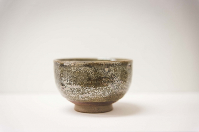 Teeschale, japanisch, teabowl, brown glaze  keramik, glasur handgemacht