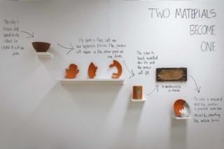Prozess Wand Keramik Metal Arbeitsprozess FLow diagram