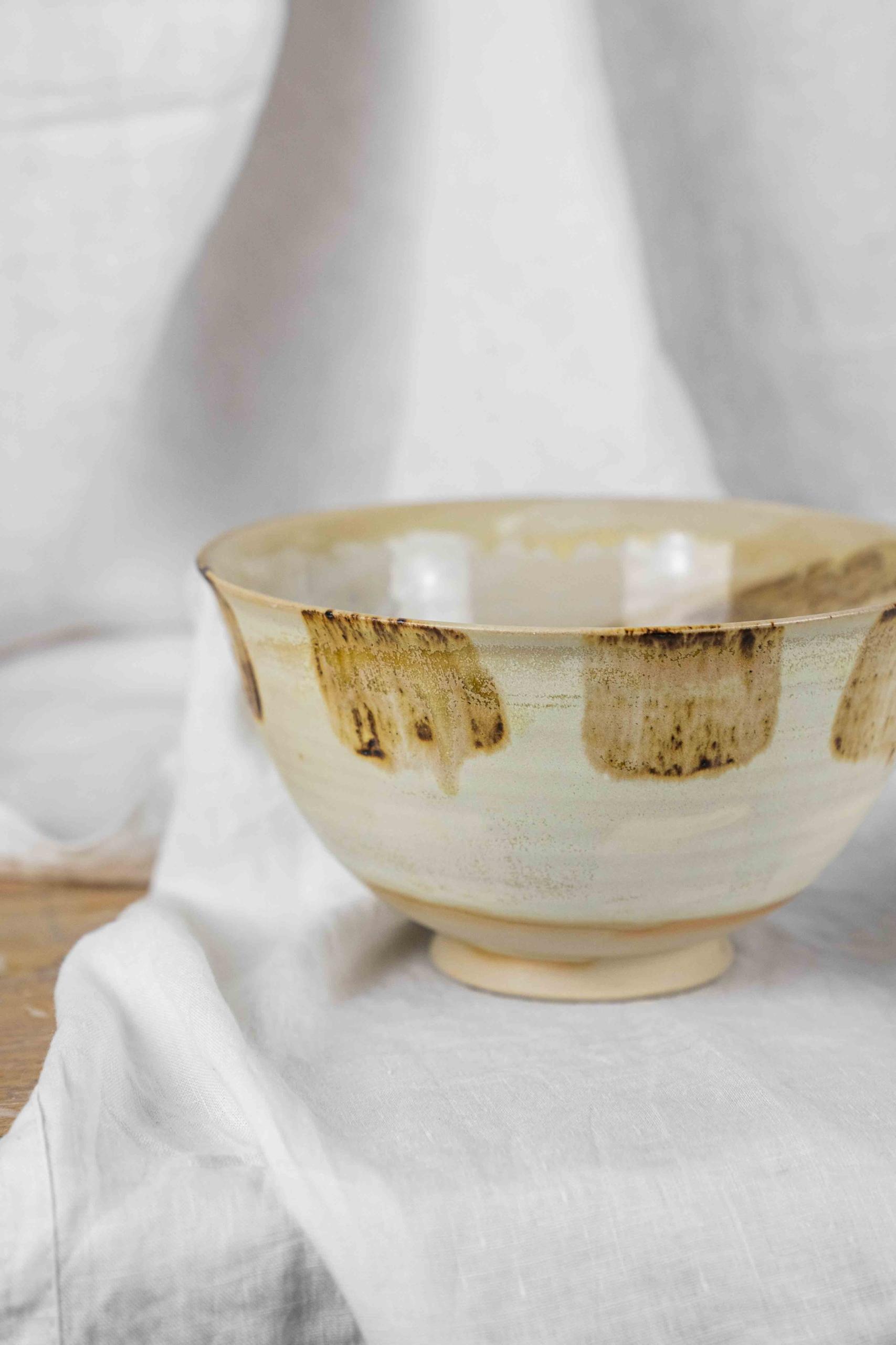 handgemachte steinzeug keramik Suppenschüssel